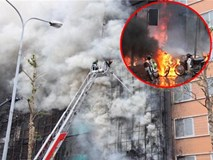 Những hình ảnh khủng khiếp trong vụ cháy quán karaoke khiến 13 người thiệt mạng