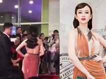 """Angela Phương Trinh bị nhân viên an ninh mời khỏi thảm đỏ vì lý do """"ý nhị"""""""