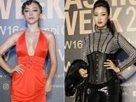 Mỹ nhân Việt gợi cảm trên thảm đỏ Vietnam International Fashion Week