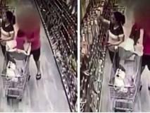 Cảnh báo: Đi siêu thị, trẻ em cũng dễ dàng bị bắt cóc khi bố mẹ mải mua sắm thế này đây