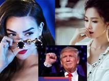 Sao Việt bày tỏ cảm xúc khi ông Donald Trump chính thức trở thành Tổng Thống Mỹ
