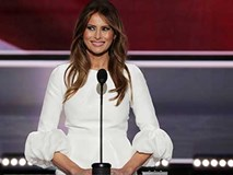 Vẻ đẹp nóng bỏng của Tân đệ nhất Phu nhân Mỹ - Melania Trump