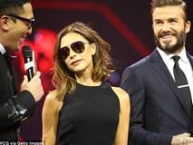 Victoria Beckham thích thú khoe vòng ba của chồng