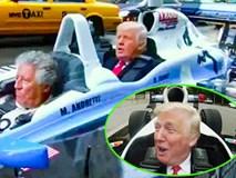 Video Donald Trump đi làm bằng xe đua F1 300km/h 'gây bão' mạng