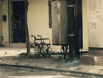 Nổ bốt điện ở Trưng Nhị, cụ bà bán nước và người chồng ngồi xe lăn bỏng nặng