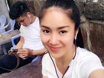 Lê Phương selfie bên bạn trai kém 9 tuổi