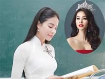 """Phạm Hương - Cô giáo """"độc nhất vô nhị"""" của showbiz Việt"""