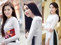 Ngẩn ngơ ngắm giai nhân Việt thả dáng với tà áo trắng