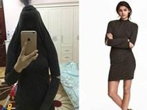 Vã mồ hôi hột vì chiếc váy gần 1 triệu mua trên mạng cố mãi không chui lọt đầu