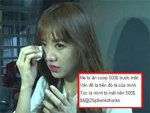 Hari Won bị cướp hàng chục triệu đồng tại Hàn Quốc