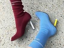 Boots tất - Xu hướng mới đang sốt sình sịch trong mùa lạnh năm nay