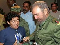 """Maradona: """"Tôi nhớ thương Fidel Castro như người cha thứ hai"""""""