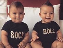 Cặp sinh đôi siêu dễ thương, cười toe toét suốt cả ngày khiến ai nhìn cũng... muốn cắn