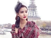 Ngọc Duyên đẹp không tì vết hóa quý cô trên đường phố Paris