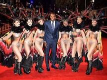 """Usain Bolt ra mắt phim, """"rừng"""" sao VIP, vũ công nóng bỏng tề tựu"""