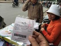 """Xổ số điện toán bán """"chui"""" ở Hà Nội: Mua 10 vé mới bán"""