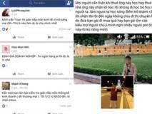 Dịch vụ học hộ thi thuê nở rộ trên mạng xã hội Facebook