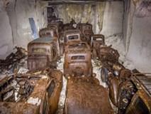 Phát hiện hầm mộ ôtô từ thời Đức quốc xã