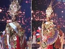 Vấp ngã, rơi mũ áo trên sân khấu, Khả Trang vẫn thắng giải trang phục đẹp nhất tại Miss Supranational 2016