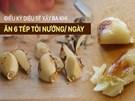 Không có tỏi đen, hãy ăn 6 tép tỏi nướng/ngày suốt 1 tháng: Bạn sẽ bất ngờ với kết quả!