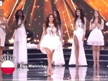 """""""Phì cười"""" trước tình huống tưởng nhầm lọt Top 10 của người đẹp Paraguay"""