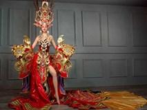 Trang phục nặng gần 45kg của Việt Nam đạt giải nhất tại cuộc thi Hoa hậu Siêu quốc gia 2016