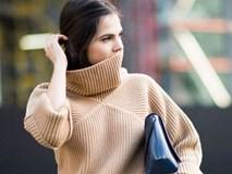 3 kiểu áo len giấu dáng dành riêng cho những cô nàng vòng 1 đầy đặn