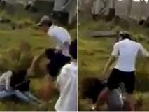 Nam thanh niên đánh chảy máu mũi cô gái trẻ, nhiều người đứng cổ vũ không hề can ngăn
