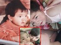 Sự giống nhau kỳ lạ của bé gái Lào Cai 3,5kg và mẹ nuôi 9x khi cùng 15 tháng tuổi