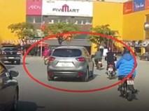 Công an đang truy tìm chiếc xe Mazda CX5 đâm người rồi bỏ chạy ở Hà Nội