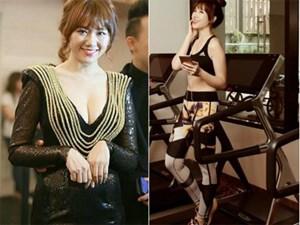 """Hari Won cải thiện vóc dáng từ béo """"bó giò"""" đến sexy cho đám cưới?"""