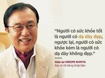 """Giáo sư Nhật 40 năm nội soi ruột già """"tiết lộ"""": Người có đường ruột sạch không sợ ung thư"""
