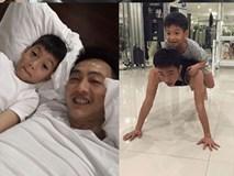 Cường Đô la thành bố đảm thế nào khi Hà Hồ mải chạy show?