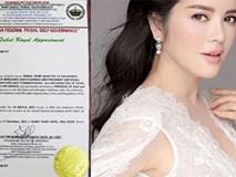 HOT: Lý Nhã Kỳ nhận chiếu chỉ làm Công chúa Châu Á của Mindanao Philippines