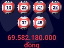 Vé số trúng gần 70 tỷ đồng được bán tại quận 5, TP.HCM