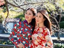 Mỹ Linh, Thanh Tú diện áo dài thướt tha trên đường phố Nhật