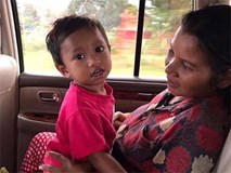 Hình ảnh mới nhất của bé trai người Campuchia bị chích điện, bạo hành dã man