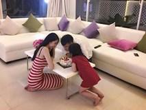 """Thủy Tiên tiết lộ """"tật xấu"""" dễ thương của bé Bánh gạo nhân dịp sinh nhật Công Vinh"""