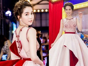 """Ngọc Trinh hóa """"công chúa"""" xinh đẹp, lộng lẫy trên thảm đỏ"""