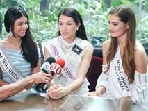 Lộ clip Lệ Hằng trả lời truyền thông quốc tế bằng tiếng Việt tại Miss Universe 2016