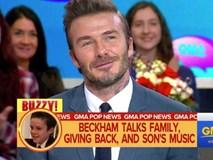 David Beckham lên tiếng khi bị tố xúi giục con trai nổi tiếng sớm