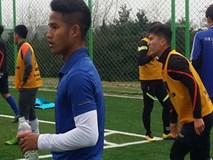 Hậu vệ Đức Lương bị đội bóng Hàn Quốc chê chậm chạp