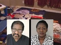 Cặp vợ chồng nhận nuôi 7 đứa trẻ để lấy tiền trợ cấp nhưng lại giam các con đến suy kiệt suốt 10 năm