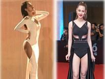 """Sao Việt tra tấn thị giác người hâm mộ với những chiếc váy """"hở ngược hở xuôi"""""""