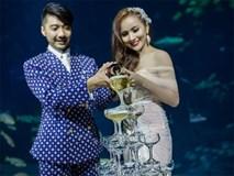 """Cô dâu Việt chi gần 2 tỷ đồng """"bao trọn"""" thủy cung lớn nhất thế giới làm đám cưới"""