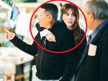 Ảnh cực hot: Ngọc Trinh ôm chặt bạn trai 72 tuổi - tỷ phú Hoàng Kiều ở Nhật