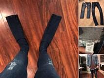 Cái kết phũ phàng của khách hàng mua quần jeans quái dị của ASOS