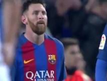 Messi solo đẳng cấp giúp Barca bám đuổi Real