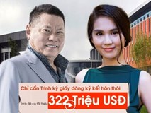 Ngọc Trinh sẽ có hơn 300 triệu USD khi kết hôn với tỷ phú Hoàng Kiều?