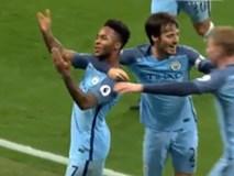 2 bàn thắng việt vị giúp Man City hạ Arsenal